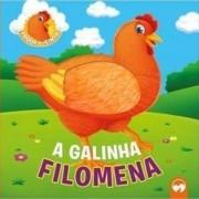 TOQUE E SINTA ANIMAIS FOFINHOS - A GALINHA FILOMENA