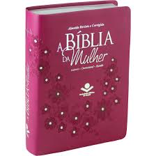 A BIBLIA RC DA MULHER MEDIA CP SINT - VINHO COM PEDRAS
