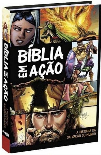 BIBLIA EM ACAO A HISTORIA DA SALVACAO DO MUNDO - SERGIO CARIELLO
