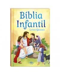 BIBLIA INFANTIL LETRA GRANDE - TODOLIVRO