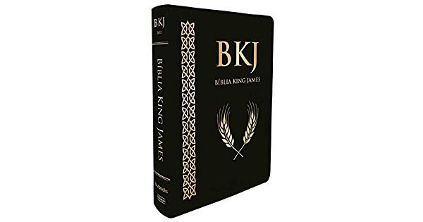 BIBLIA KING JAMES FIEL 1611 ULTRAGIGANTE SUPER LUXO - PRETA