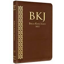 BIBLIA KING JAMES ULTRA FINA GRANDE - MARROM