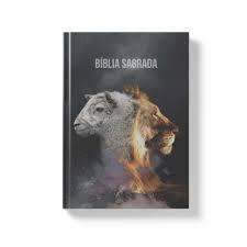 BIBLIA NA CP DURA LEAO E CORDEIRO - PRETA