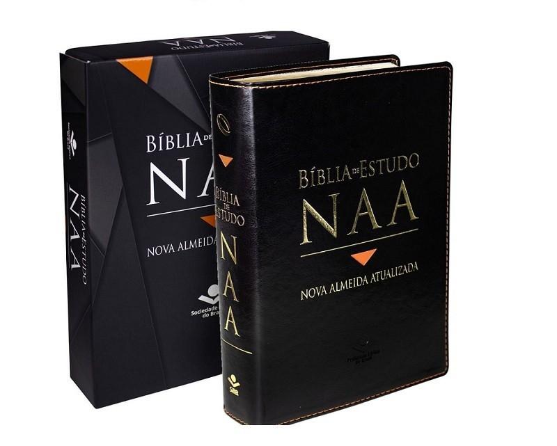 BIBLIA NA DE ESTUDO CP SINT S/INDICE - PRETA