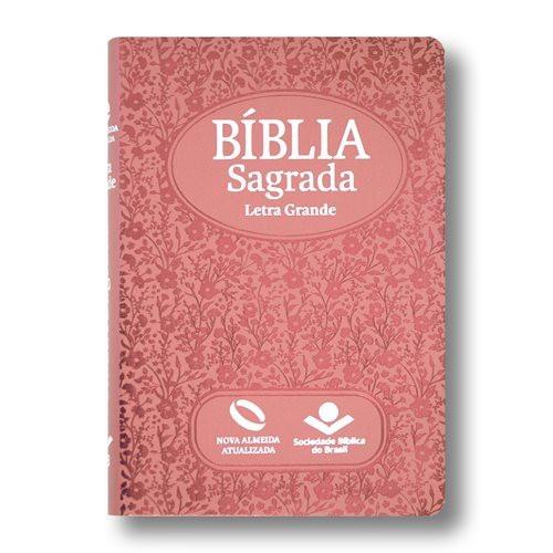 BIBLIA NA LETRA GIG C/IND DIG - BOND ROSA