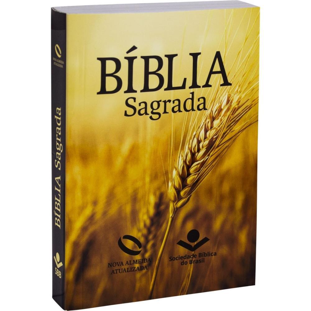 BIBLIA NA LETRA GRANDE CP BROCHURA - TRIGO