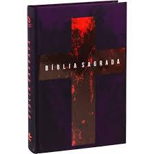 BIBLIA NA LETRA GRANDE CP DURA - CRUZ VERMELHA