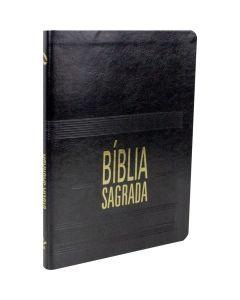 BIBLIA NA SAGRADA SLIM LETRA GIG CP SINT - PRETA