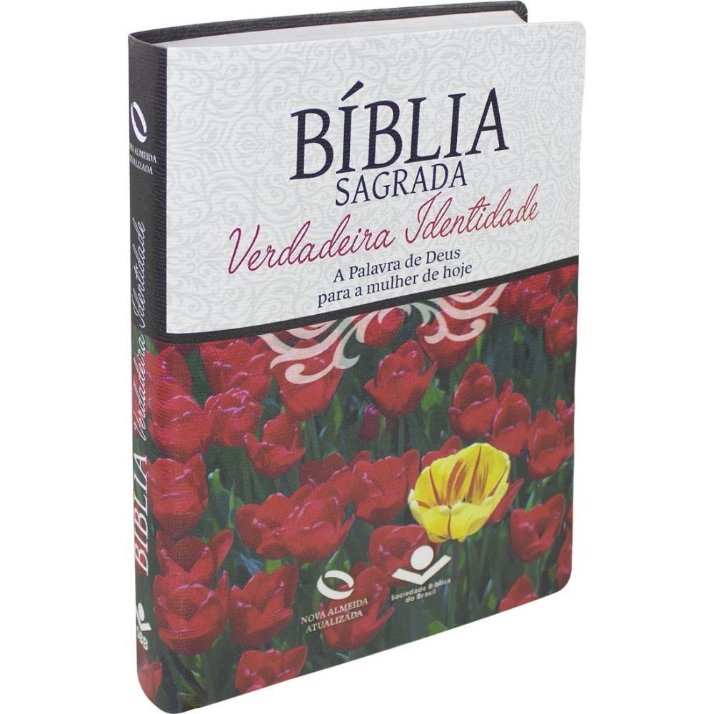 BIBLIA NA VERDADEIRA IDENTIDADE CP LUXO - FLORES