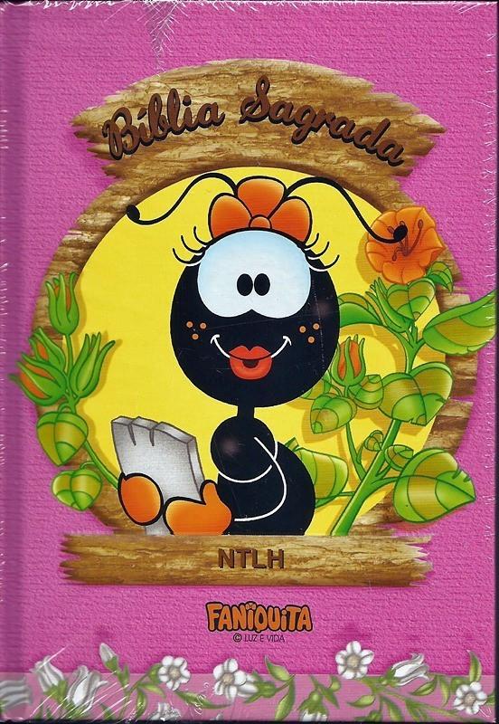 BIBLIA NTLH CP DURA - FANIQUITA ROSA