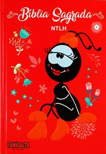 BIBLIA NTLH CP DURA - FANIQUITA VERMELHA