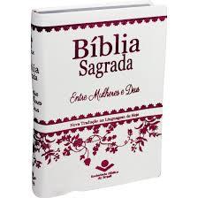 BIBLIA NTLH ENTRE MULHERES E DEUS CP LUXO - BRANCA