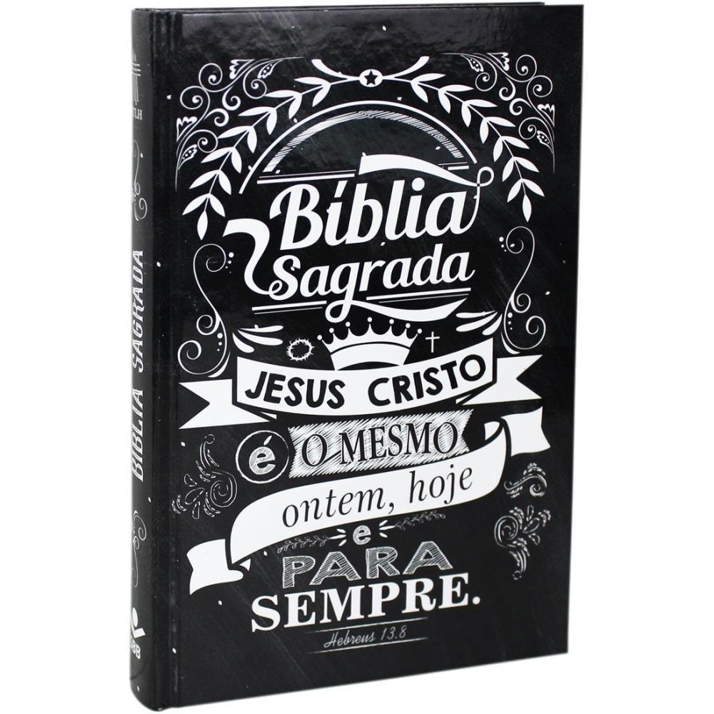 BIBLIA NTLH JESUS COPY CP DURA - LETTERING PRETO