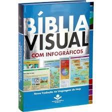BIBLIA NTLH VISUAL COM INFOGRAFICOS - ILUSTRADA