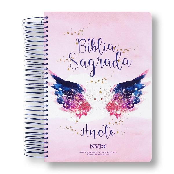 BIBLIA NVI ANOTE ESPIRAL CLASSICA - ASAS DO PENSAMENTO
