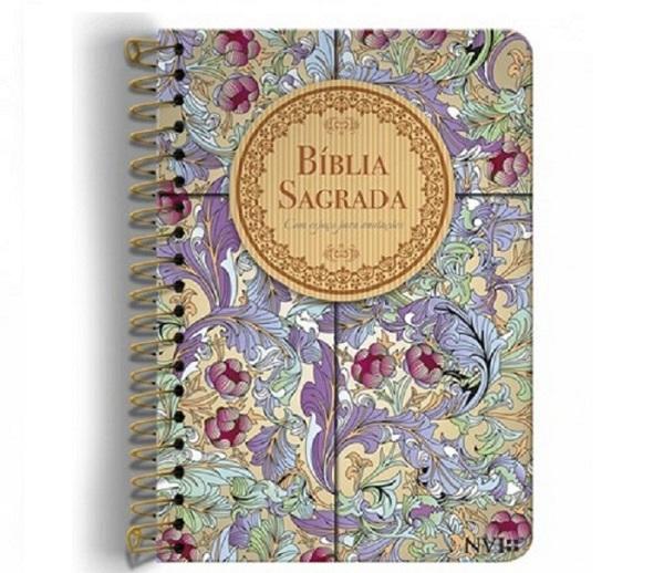 BIBLIA NVI ANOTE ESPIRAL CLASSICA - CALAMO E CANELA