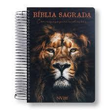 BIBLIA NVI ANOTE ESPIRAL CLASSICA - LEAO DE JUDA