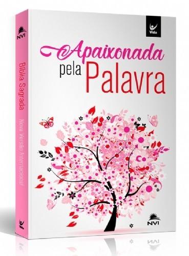 BIBLIA NVI CP BROCHURA APAIXONADA PELA PALAVRA - ROSA