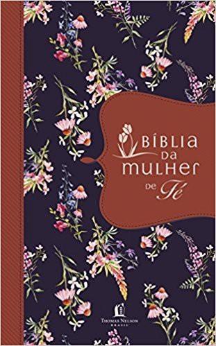 BIBLIA NVI DA MULHER DE FE CP LUXO - TECIDO
