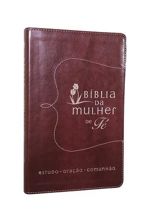 BIBLIA NVI DA MULHER DE FE CP LUXO - VERMELHO