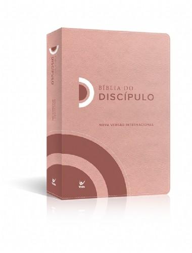 BIBLIA NVI DO DISCIPULO CP LUXO - ROSA