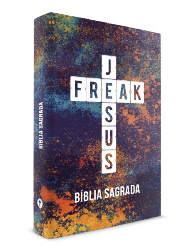 BIBLIA NVI JESUS FREAK CP DURA - COLOR