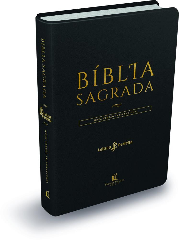 BIBLIA NVI LEITURA PERFEITA CP LUXO MEDIA - PRETA
