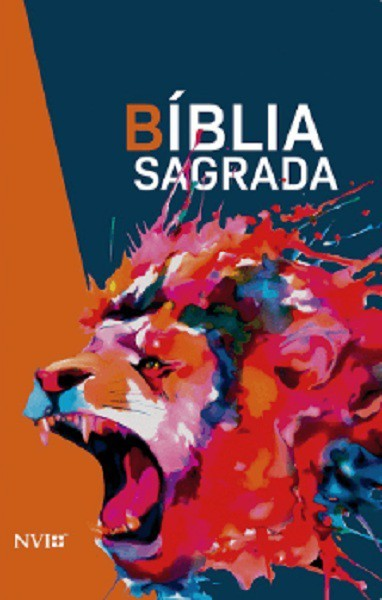 BIBLIA NVI NOVA ORTOGRAFIA LETRA GRANDE - LEAO