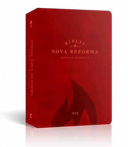 BIBLIA NVI NOVA REFORMA CP PU - VERMELHA