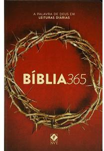 BIBLIA NVT 365 CP DURA - COROA