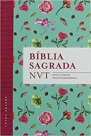 BIBLIA NVT LETRA GRANDE CP DURA - FLORES TIFFANY