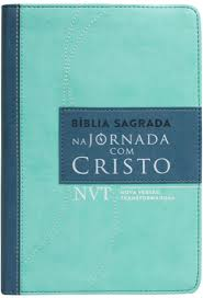 BIBLIA NVT NA JORNADA COM CRISTO CP LUXO - VERDE