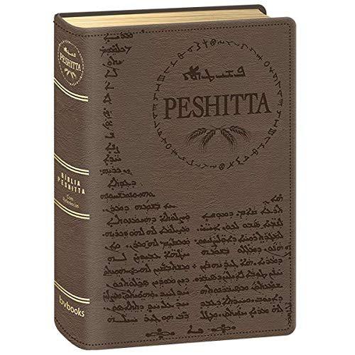 BIBLIA PESHITTA COM REFERENCIAS - MARROM