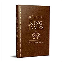 BIBLIA RA KING JAMES SLIM - MARROM
