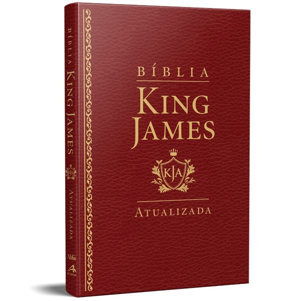 BIBLIA RA KING JAMES SLIM - VINHO