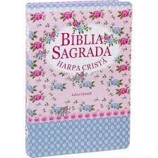 BIBLIA RC C/HARPA CP SEMIFLEX - FLORIDA AZUL