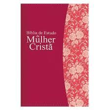 BIBLIA RC DE ESTUDO MULHER CRISTA CP LUXO - PU PINK