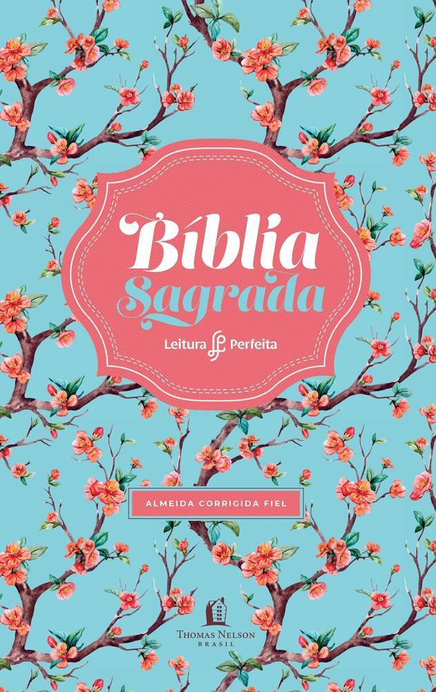BIBLIA RC LEITURA PERFEITA CP LUXO MEDIA - FLORAL