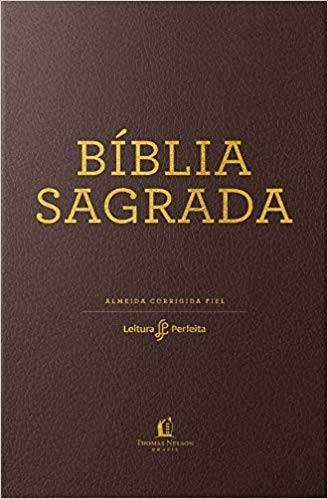 BIBLIA RC LEITURA PERFEITA CP LUXO MEDIA - MARROM