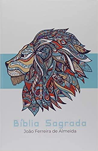BIBLIA RC LETRA GRANDE CP ESPECIAL C/LATERAL ARTISTICA - AZUL LEAO