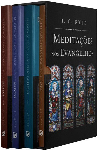 BOX MEDITACOES NOS EVANGELHOS - J C RYLE