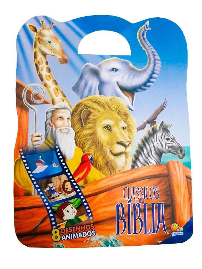 CLASSICOS DA BIBLIA III KIT C/ 8 UNIDADES - TODOLIVRO