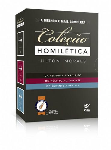 COLECAO HOMILETICA - JILTON MORAES