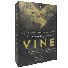 DICIONARIO  VINE - W E VINE