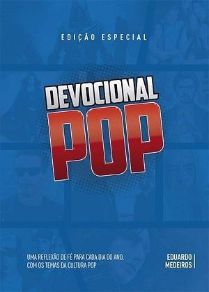 LIVRO DEVOCIONAL POP CAPA AZUL - EDUARDO MEDEIROS