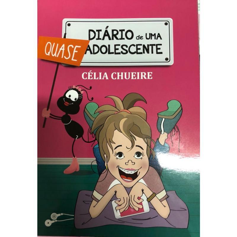 LIVRO DIARIO DE UMA QUASE ADOLESCENTE - CELIA CHUEIRE