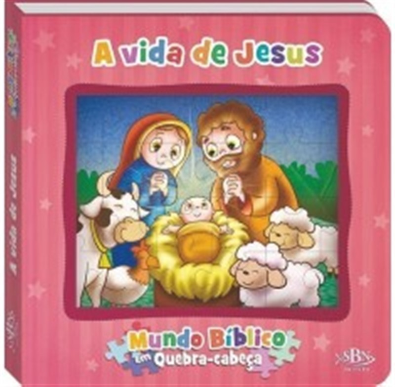 MUNDO BIBLICO EM QUEBRA CABECAS - A VIDA DE JESUS
