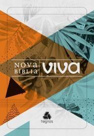 NOVA BIBLIA VIVA BROCHURA LETRA GRANDE - FOLHAGEM