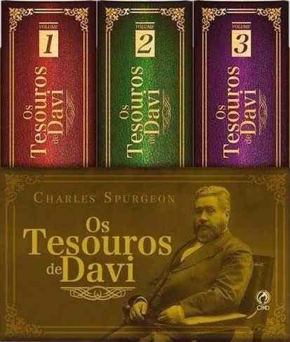 OS TESOUROS DE DAVI COLECAO - CHARLES SPURGEON