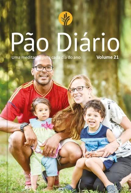 PAO DIARIO VOL 21  EDICAO FAMILIA LETRA GIGANTE